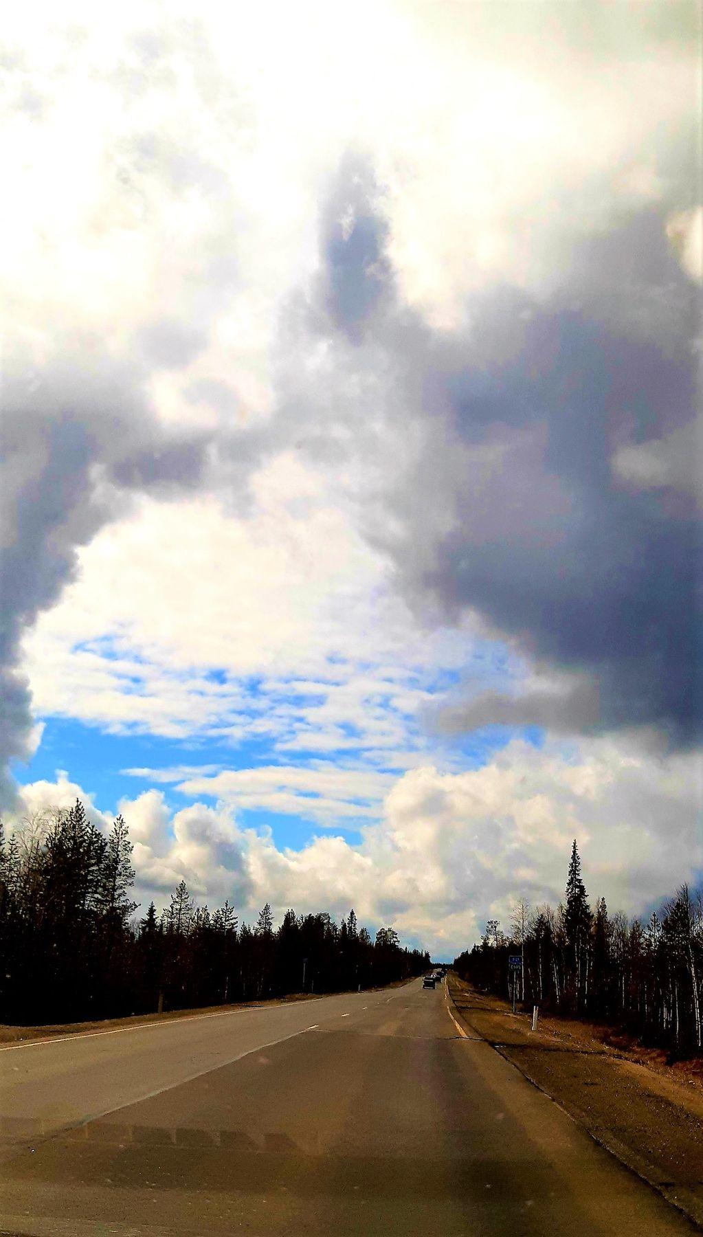 Небо севера