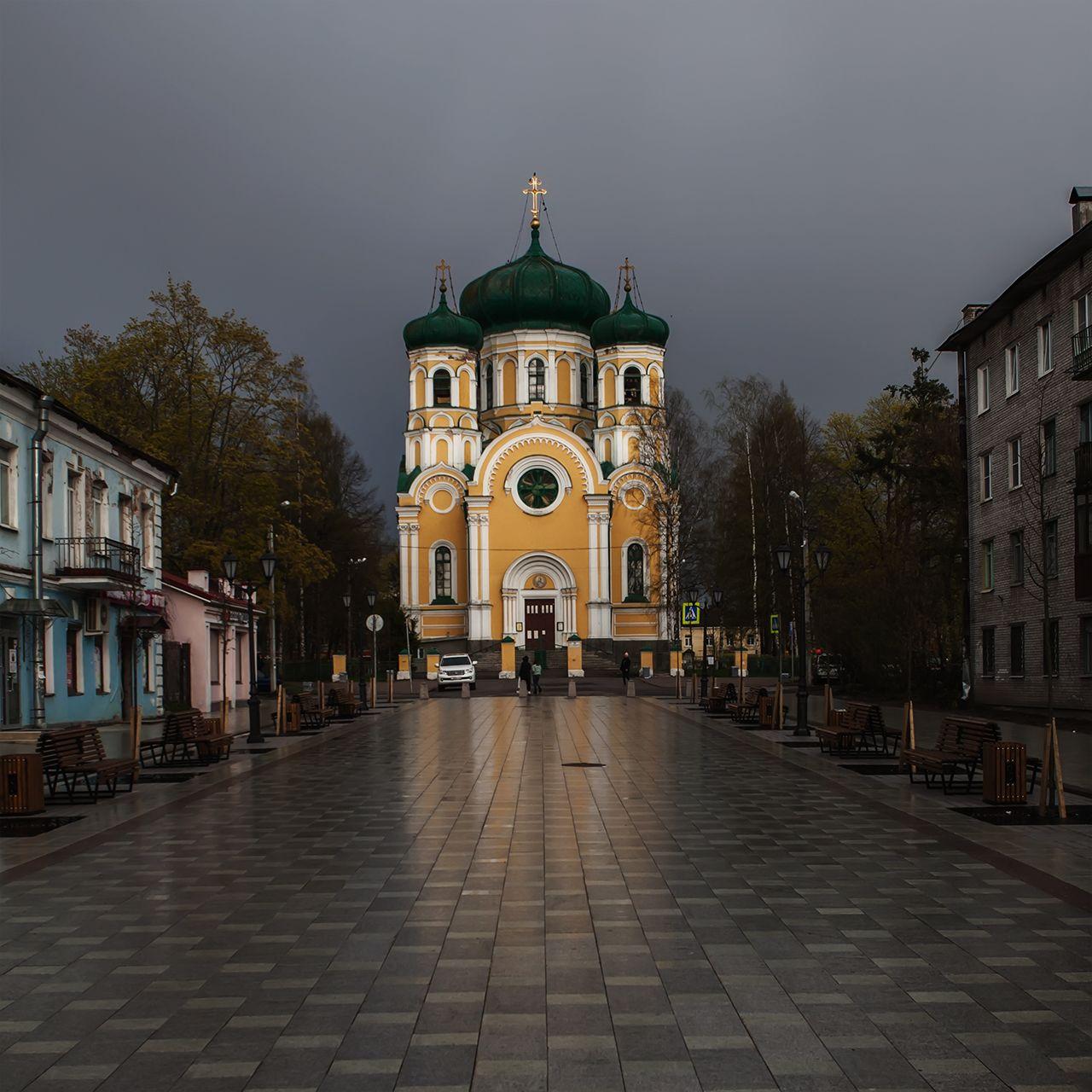 Собор на Соборной улице Гатчина соборная собор