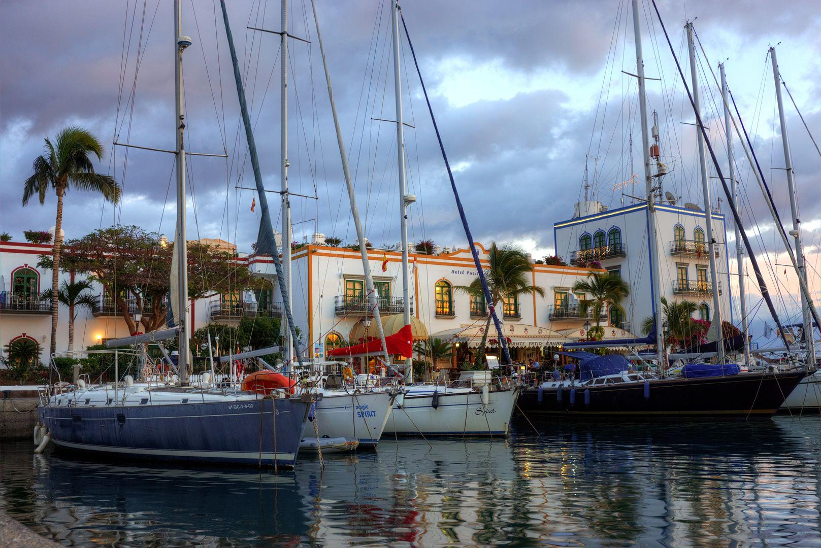 Порт Испания Гран-Канария порт Моган