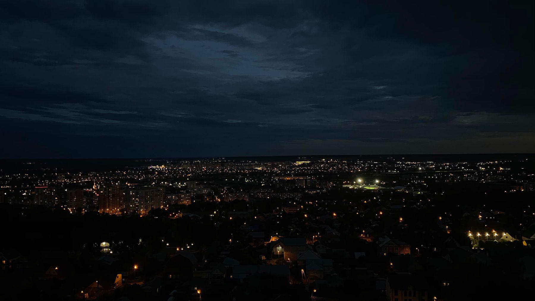 Ночное небо Penza Night time Sky