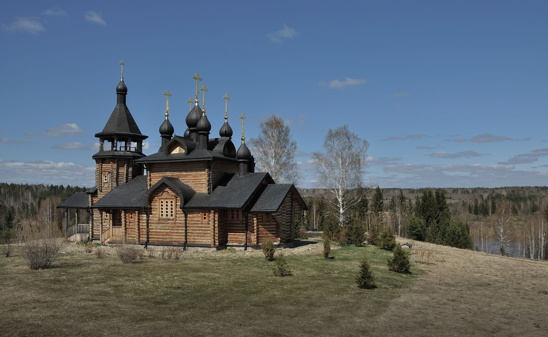 Храм в честь Всех Святых в земле Сибирской просиявших