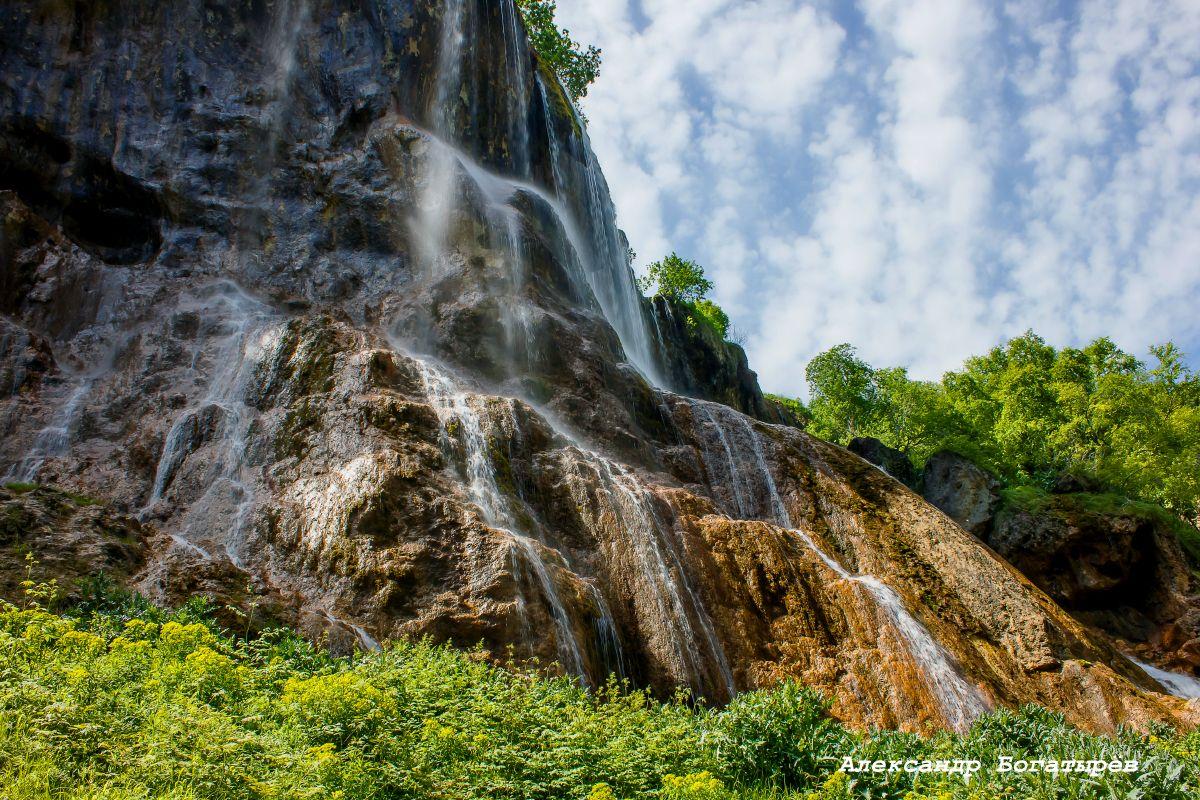 водопад Гедмишх (Царская корона)