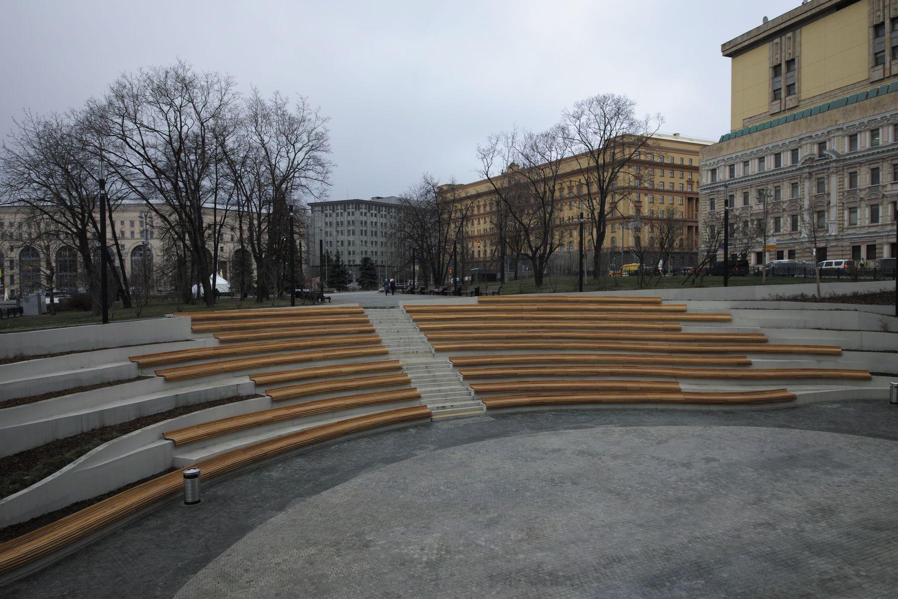 Музейный парк город Москва парк Музейный