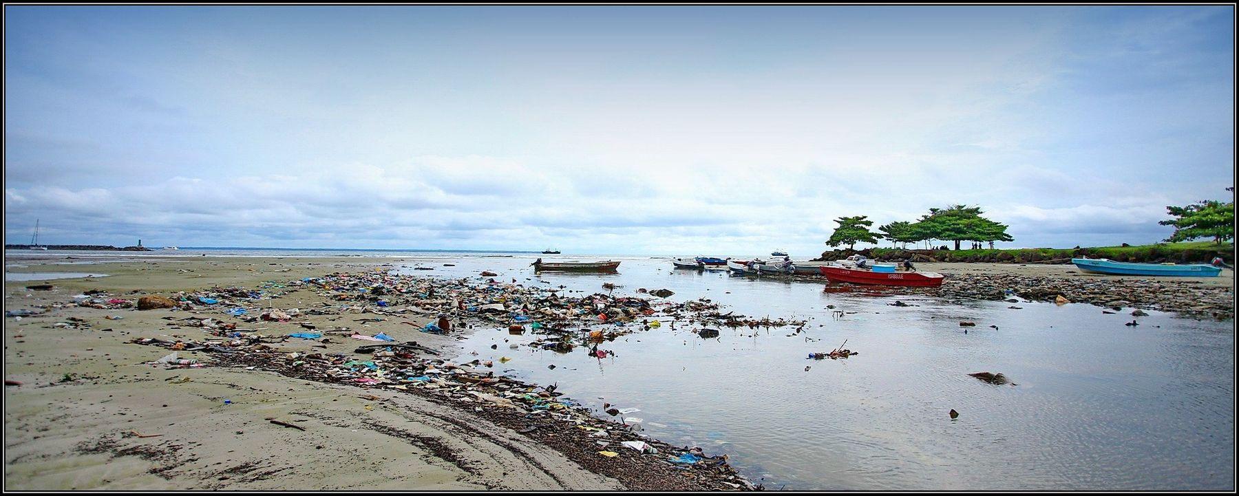 Рыбацкая лагуна африка габон либревиль океан залив лагуна