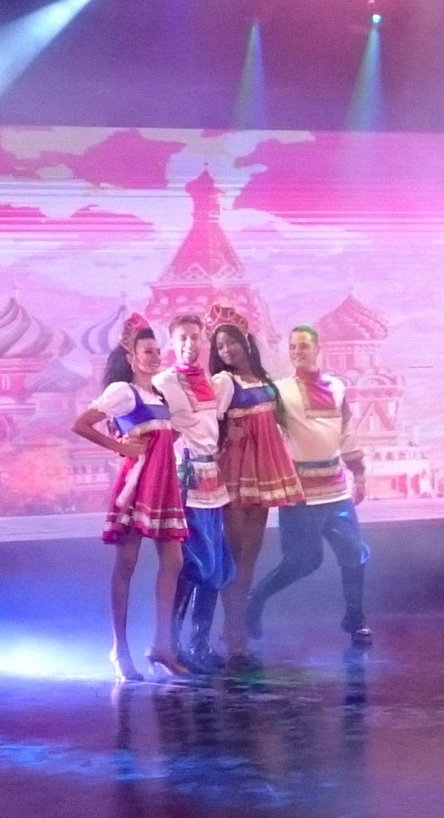 Калинка в Болгарии: танцоры из Кубы и Украины