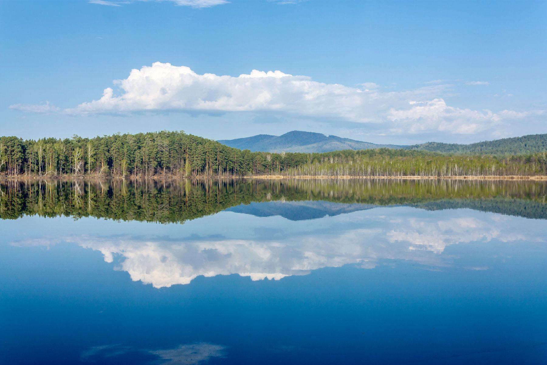 Озеро Инышко Южный Урал Миасс Инышко весна