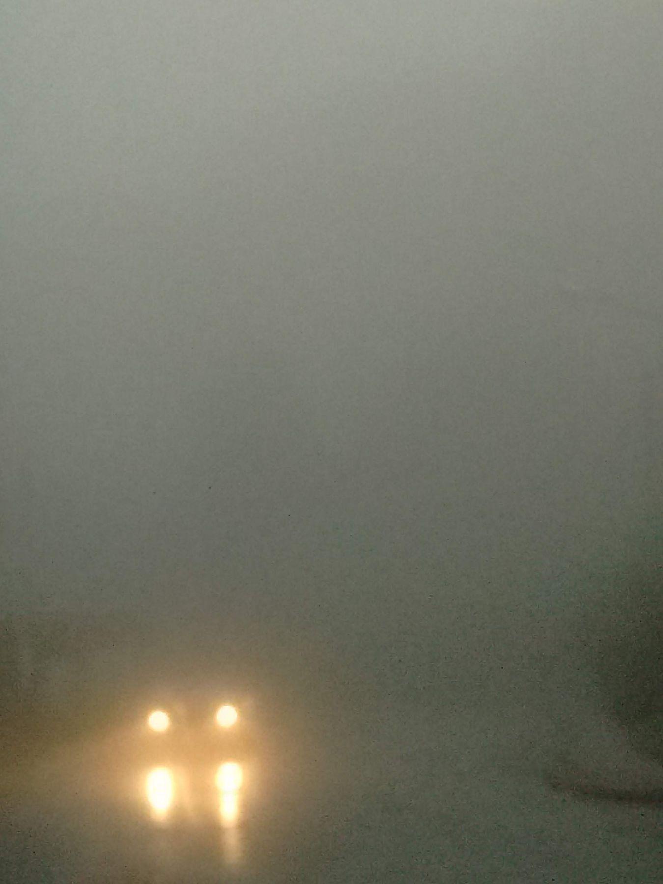 *** туман фары машина осень