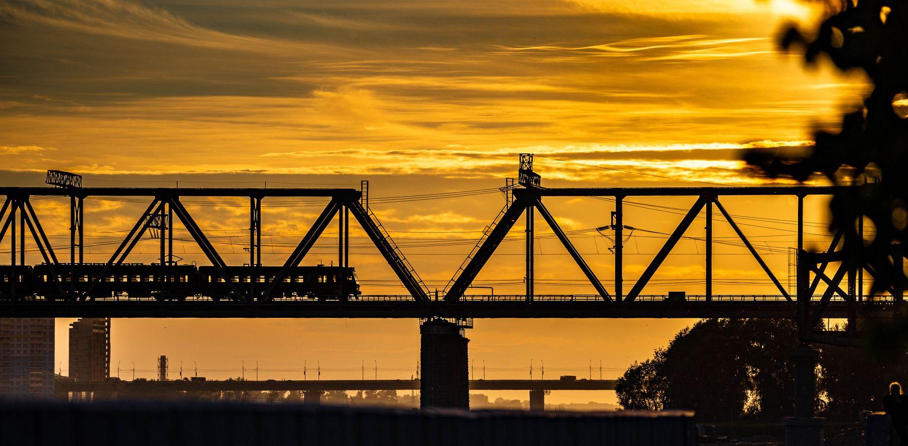 Мост Новосибирск мост