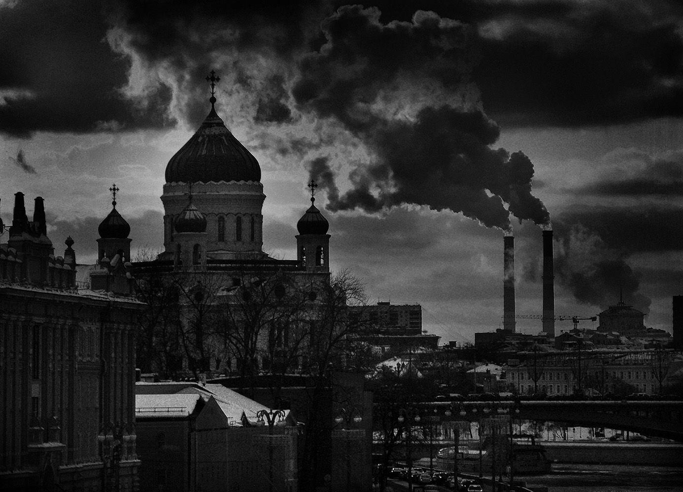 Маленький московский пейзаж