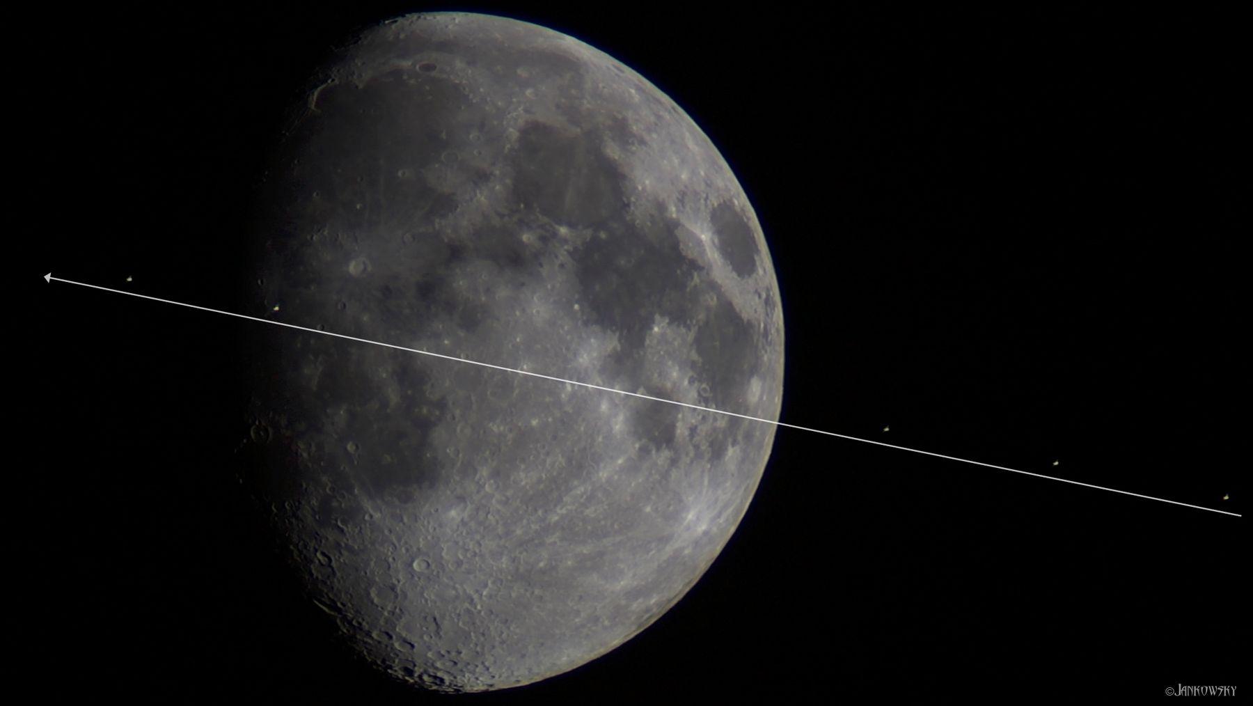 Транзит МКС по Луне 22.05.21 мкс луна транзит по луне на фоне луны астрофото