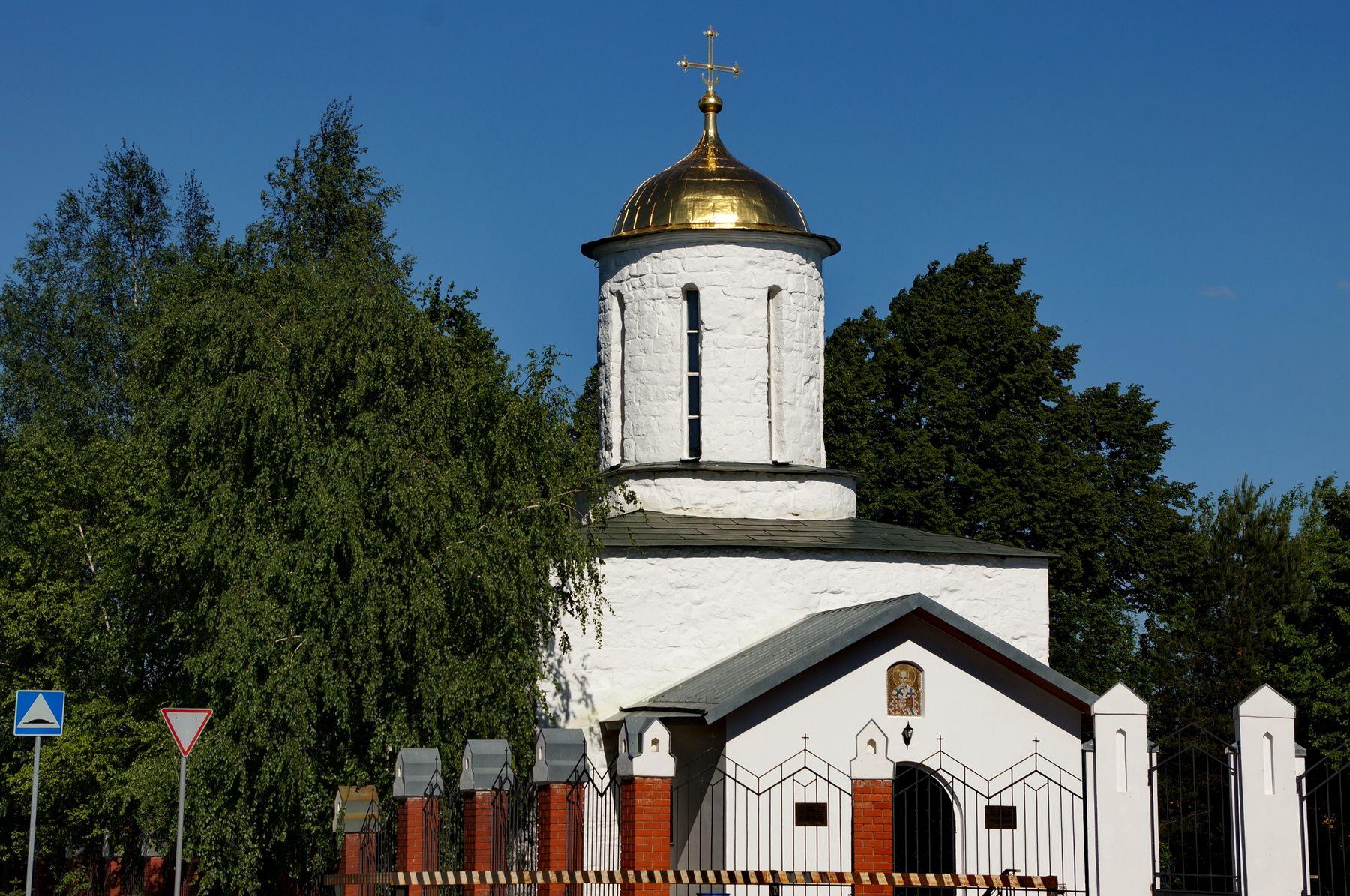 Никольская церковь в селе Каменское