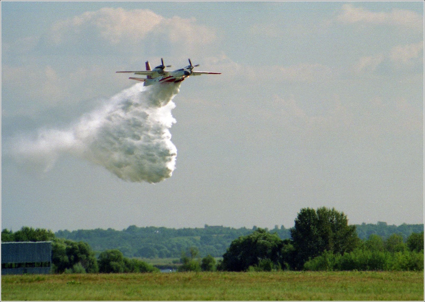Ан-32П Ан-32П авиация самолет полет Жуковский 1998