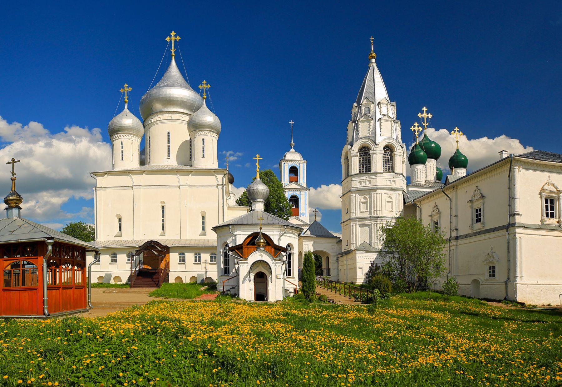 Никитский монастырь Переславль-Залесский Данилов монастырь