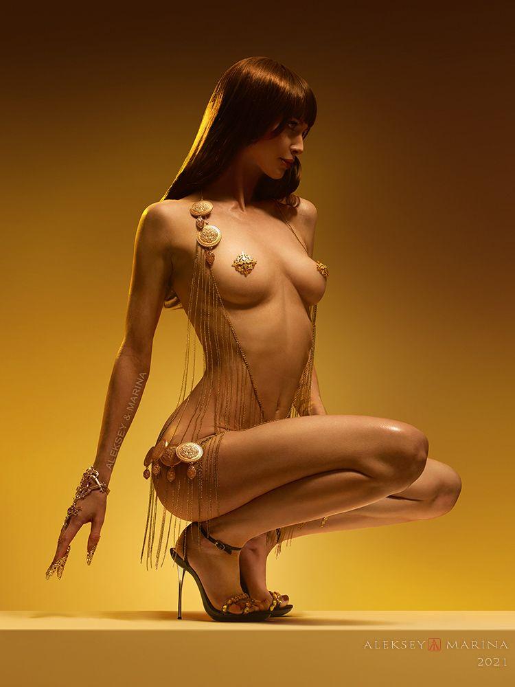 Роскошь лета. Август. лето роскошь тело украшения девушка красота жёлтый золото