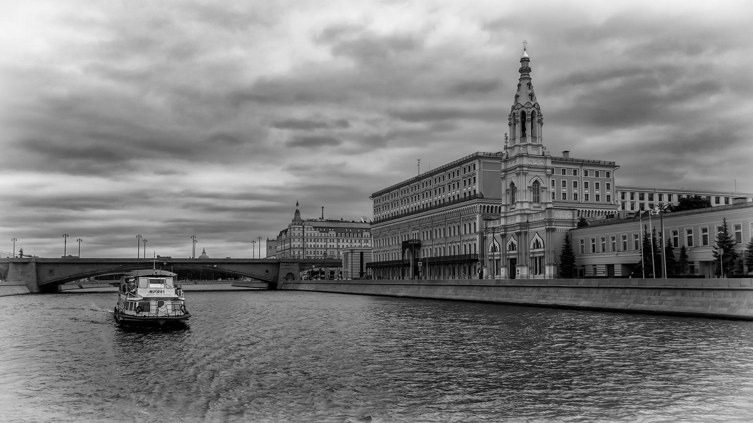 Прогулка по Москве-реке 03