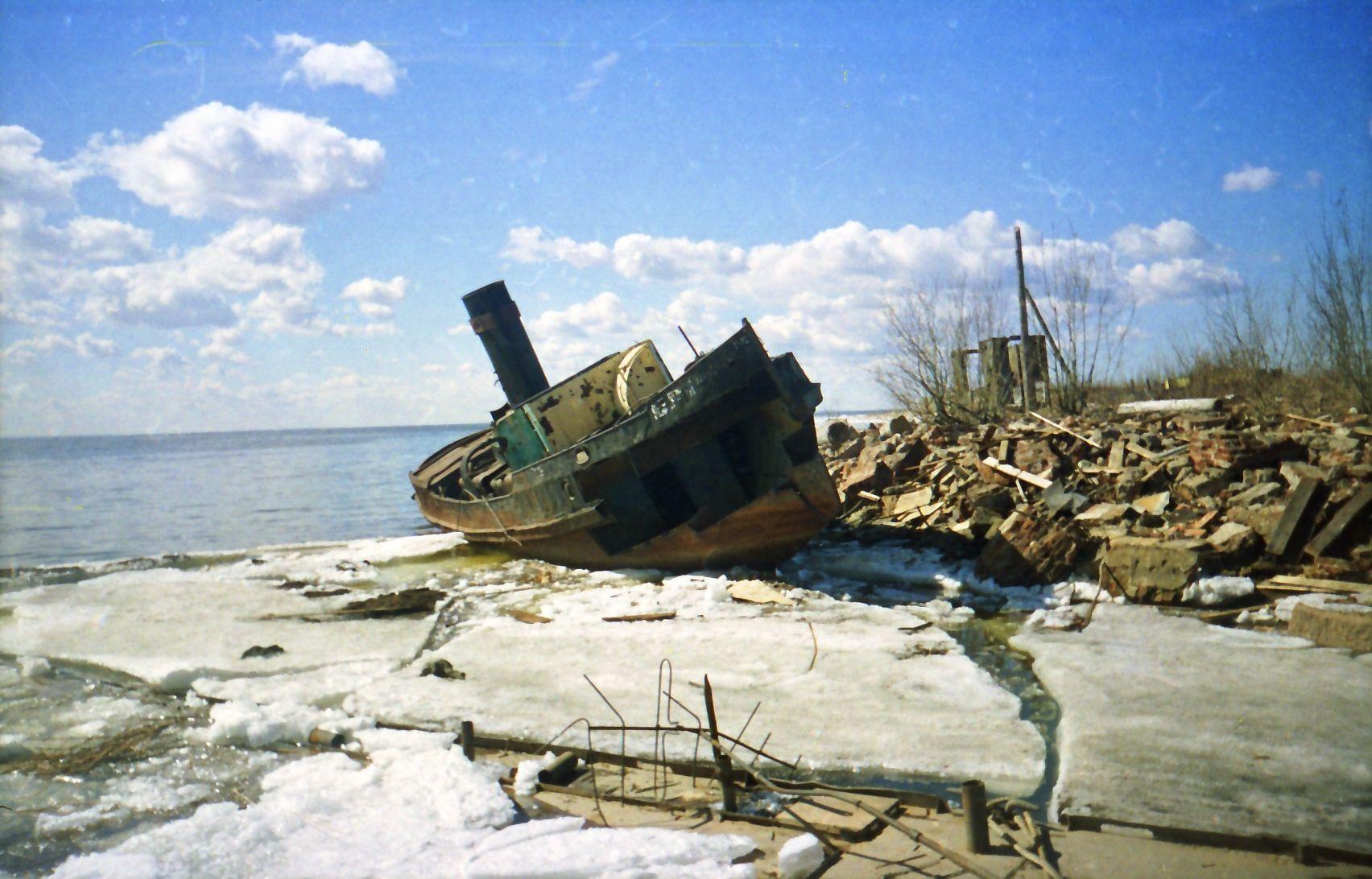 ***Последние пароходы...