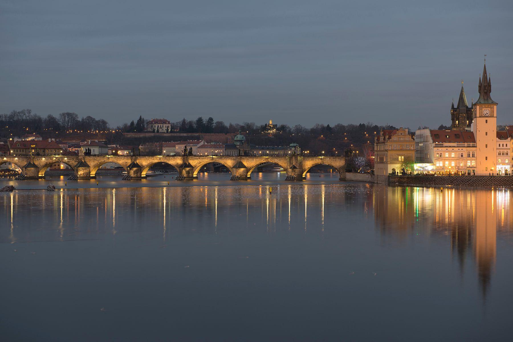 *** Прага Карлов мост