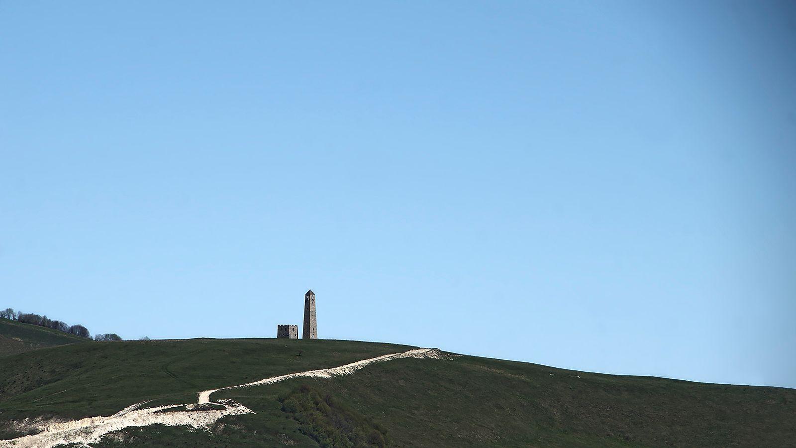 верхняя башня Харачой верхняя башня