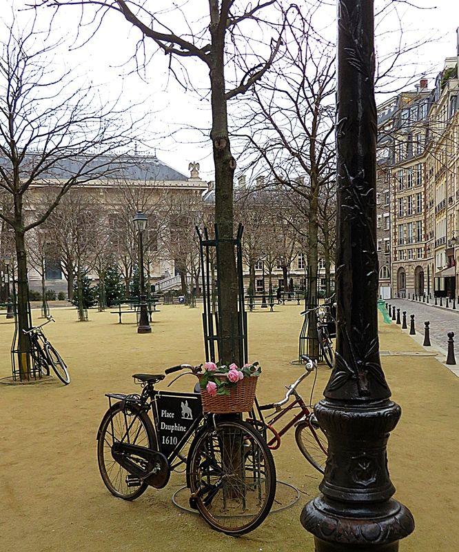 trg s biciklima