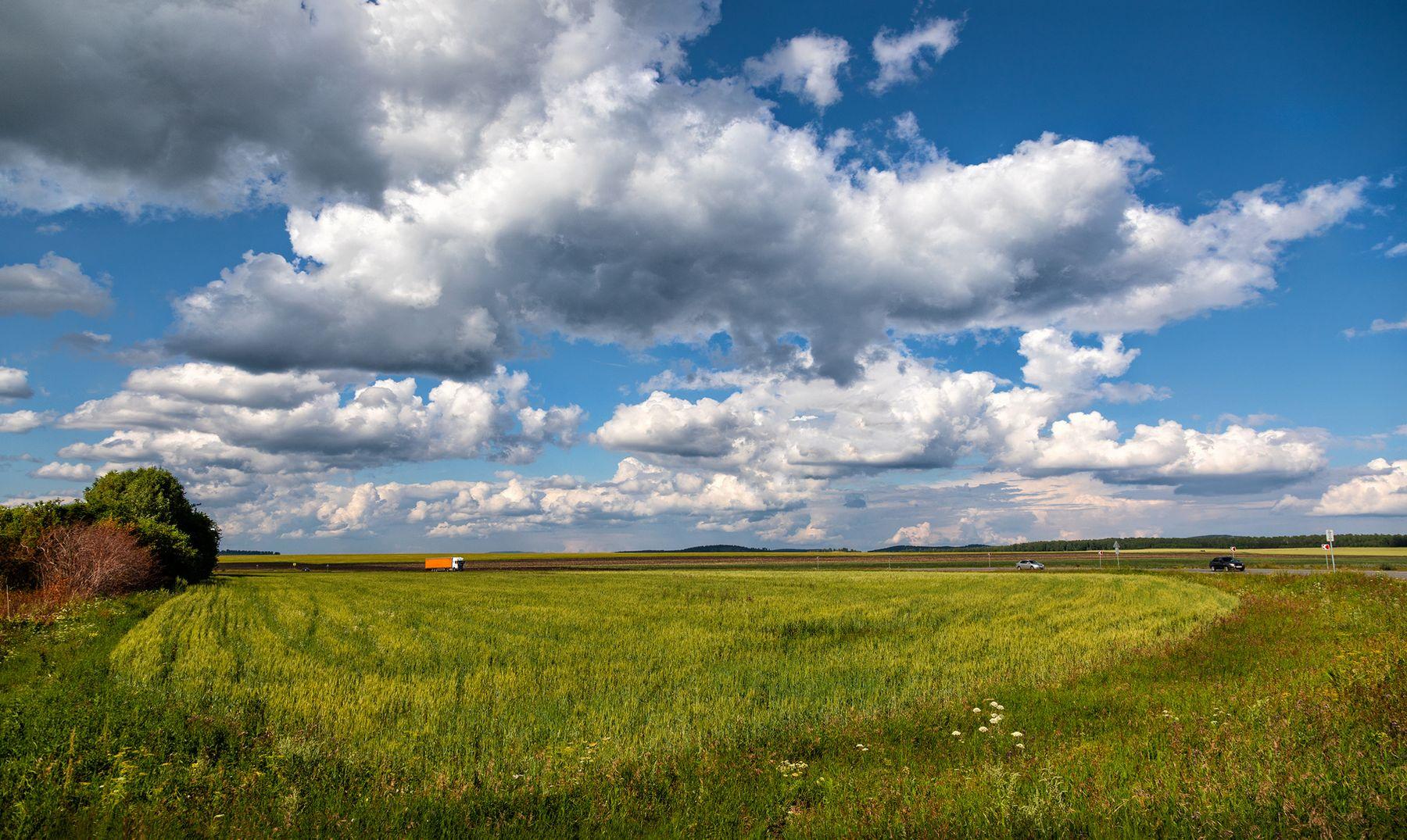 В погоне за облаками Башкирия