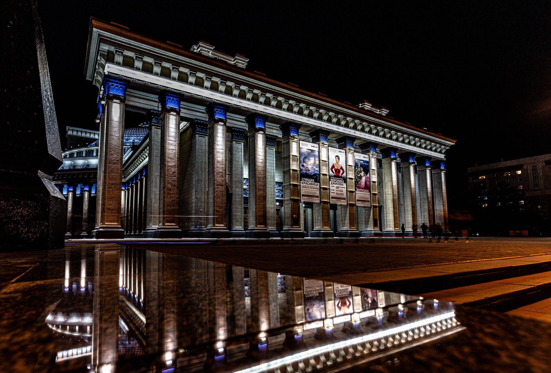 театр оперы и балета Новосибирск Новосибирск театр оперы и балета