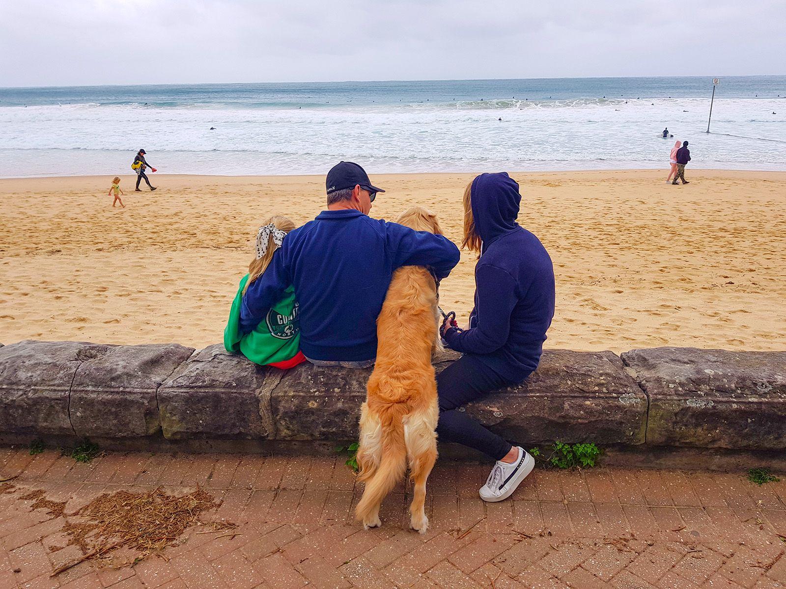*** Семья пляж Мэнли