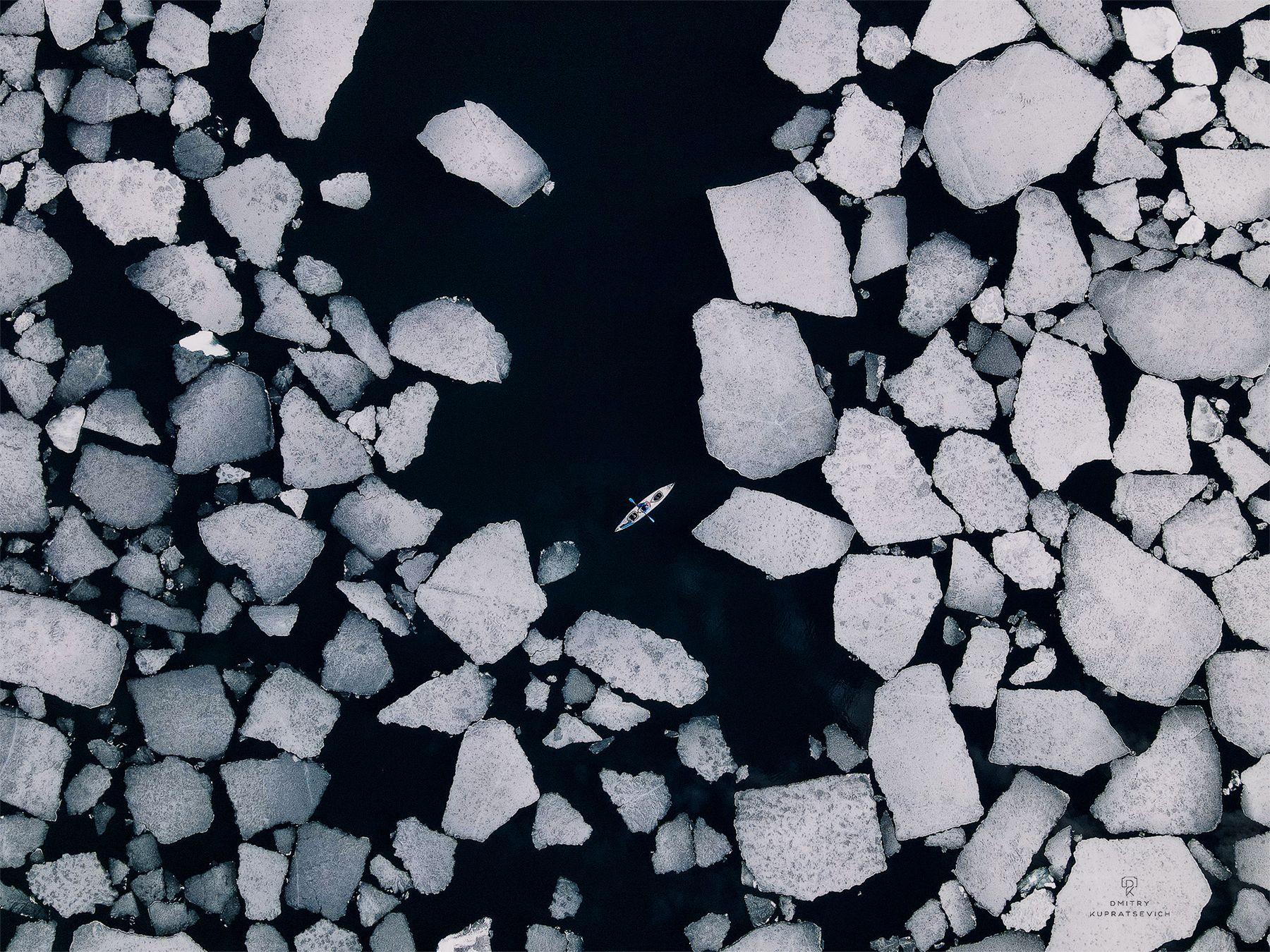 Уходящие льды Байкала Байкал весна пейзаж лед снег озеро