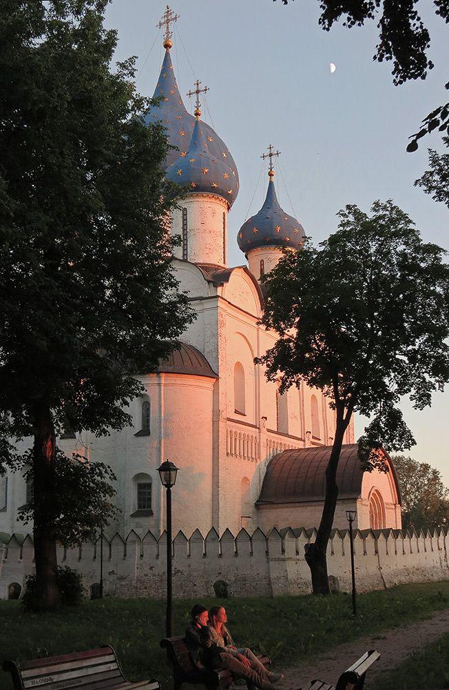 Июньский вечер Суздаль Золотое кольцо России