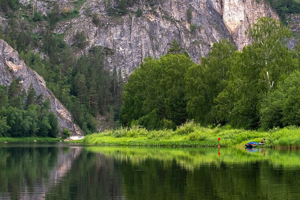*** Белая река