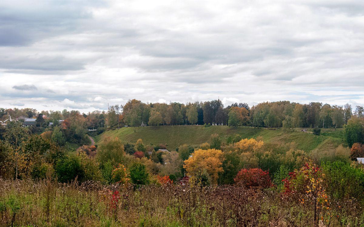 Плёс плёс плес иваново кострома природа пейзаж вид волга река осень сентябрь горка