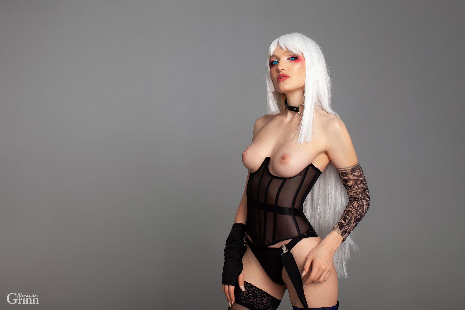 Cyber Witcher Cyber Witcher alexandergrinn cosplay