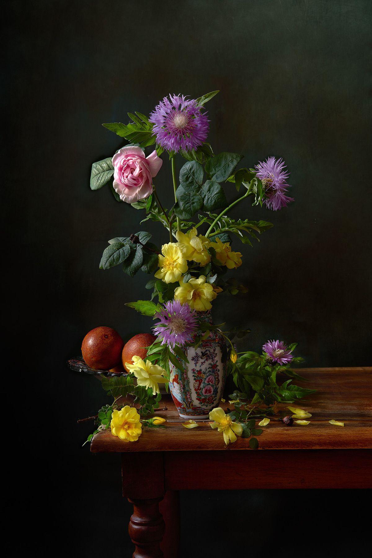 *** цветы натюрморт