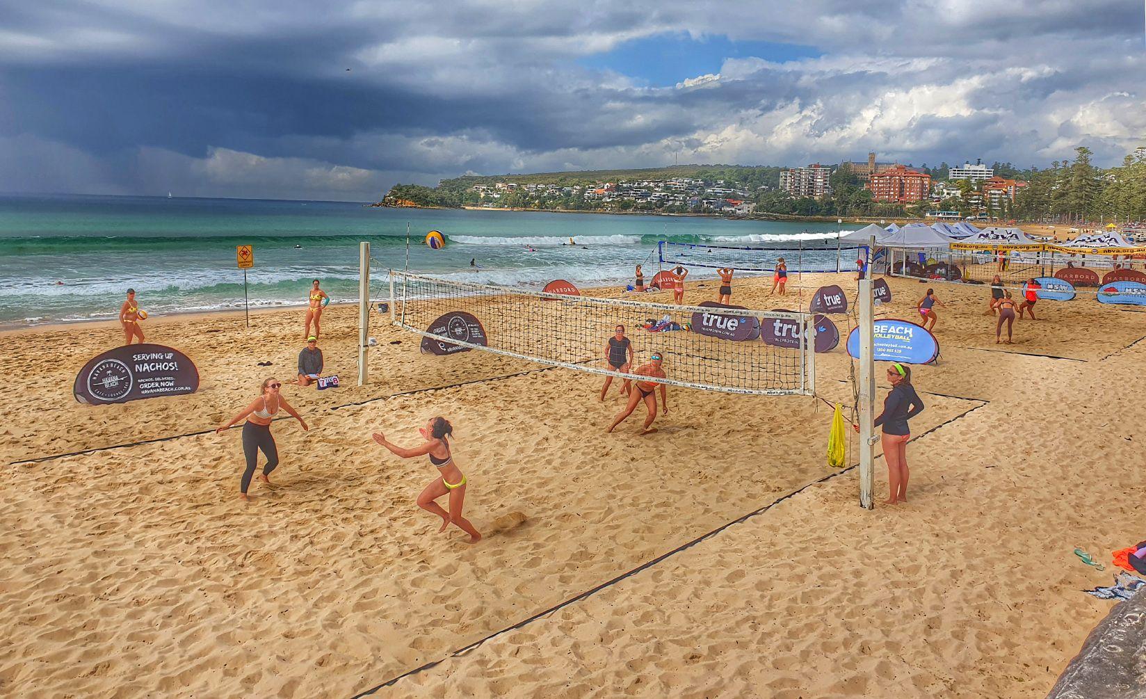 Сиднейский пляжный волейбол... пляжный волейбол пляж Сидней Австралия