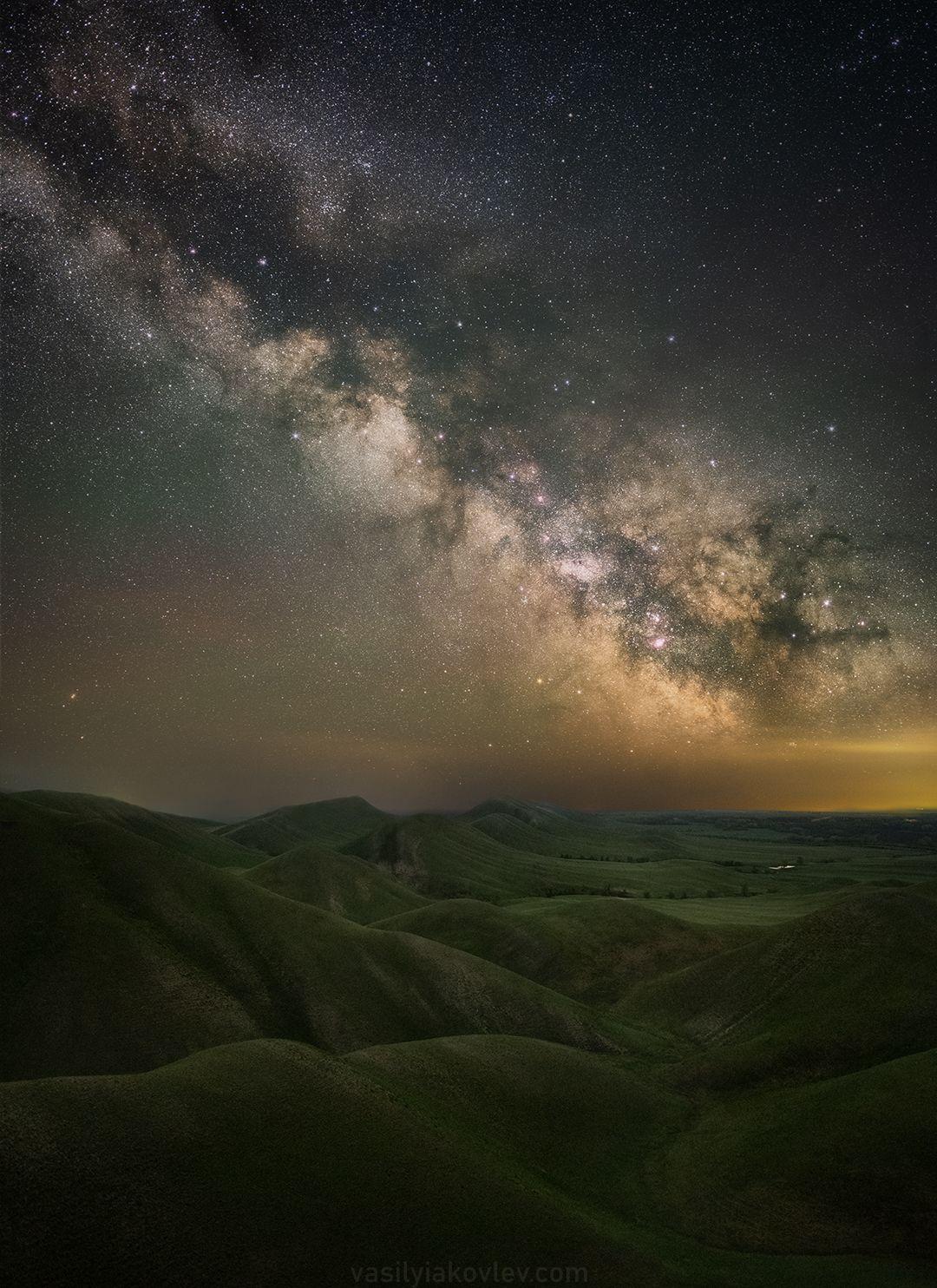 Ночь в Долгих горах долгие горы фототур яковлевфототур василийяковлев