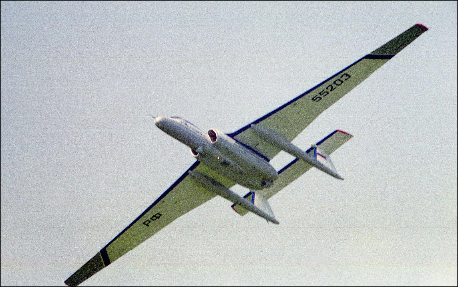 М-55 «Геофизика» М-55 Геофизика авиация самолет полет Жуковский 1996