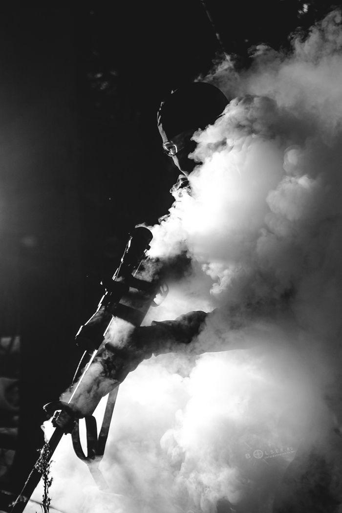 *** снайпер дым