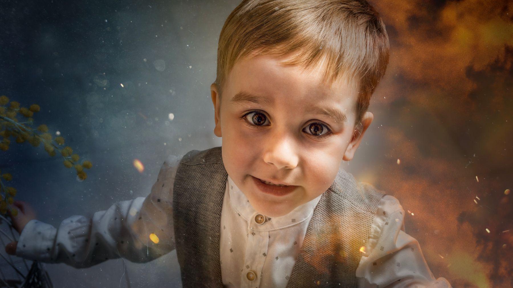 Николай детский портрет студийный дети
