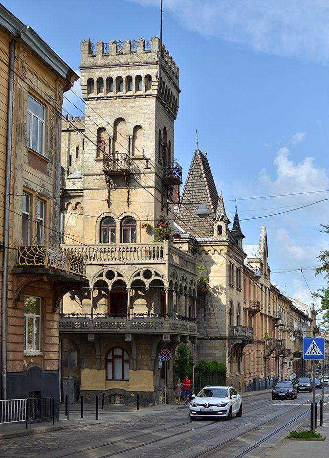 Старый город архитектура город львов