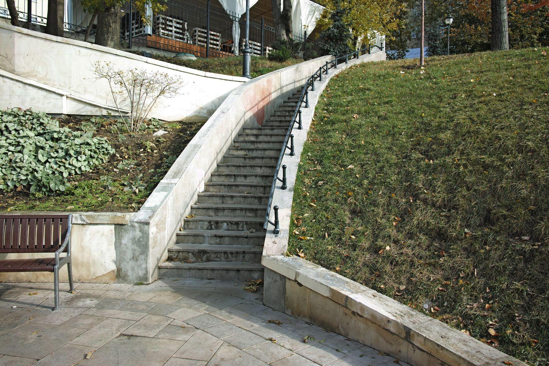 Парк Горка город Москва парк Горка