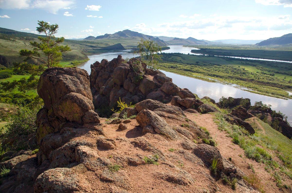 Долина реки Селенги