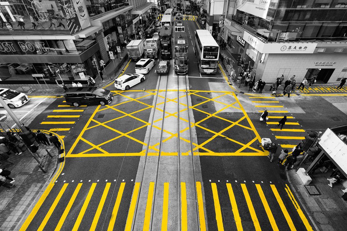 Жёлтые полосочки Гонконга - 3 гонконг