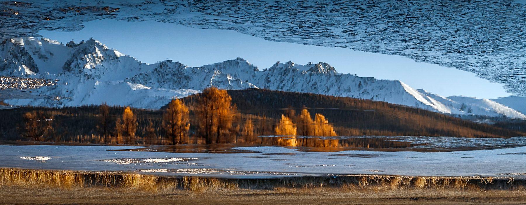 Зазеркалье озера Джангысколь
