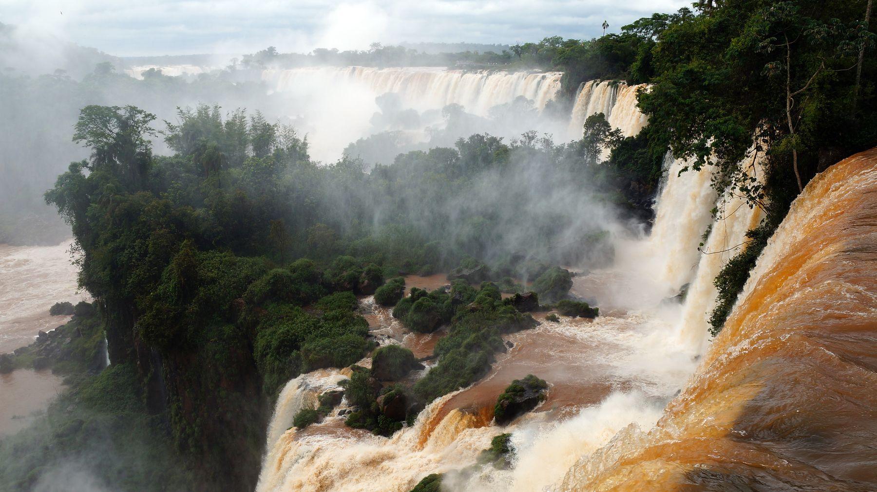 ***Водопад Игуасу. Аргентина