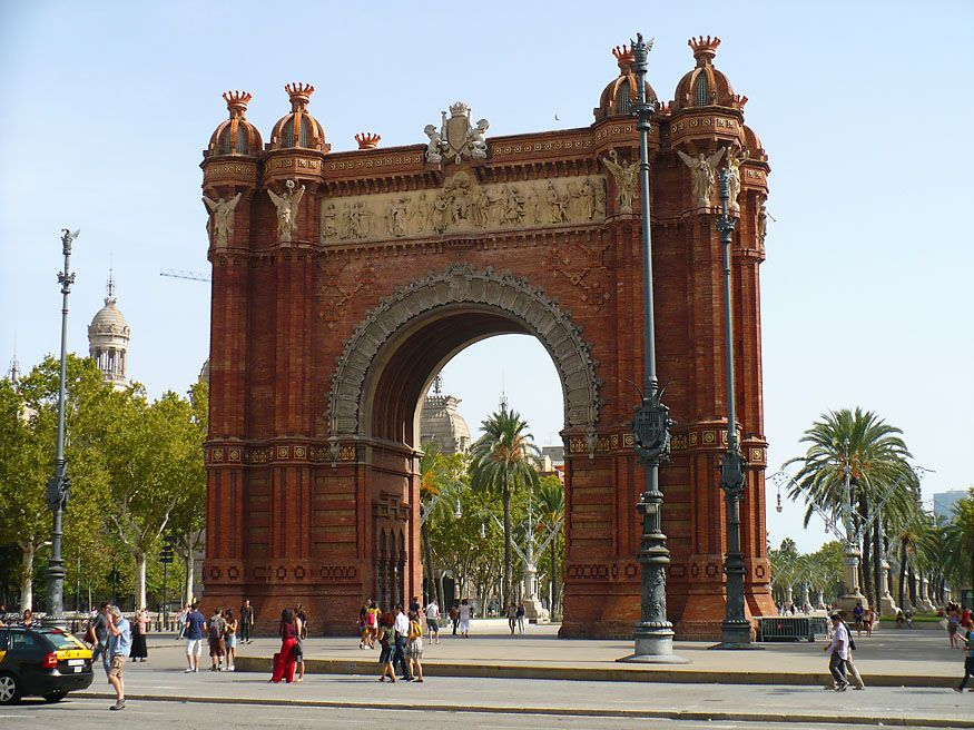 Триумфальная арка Испания