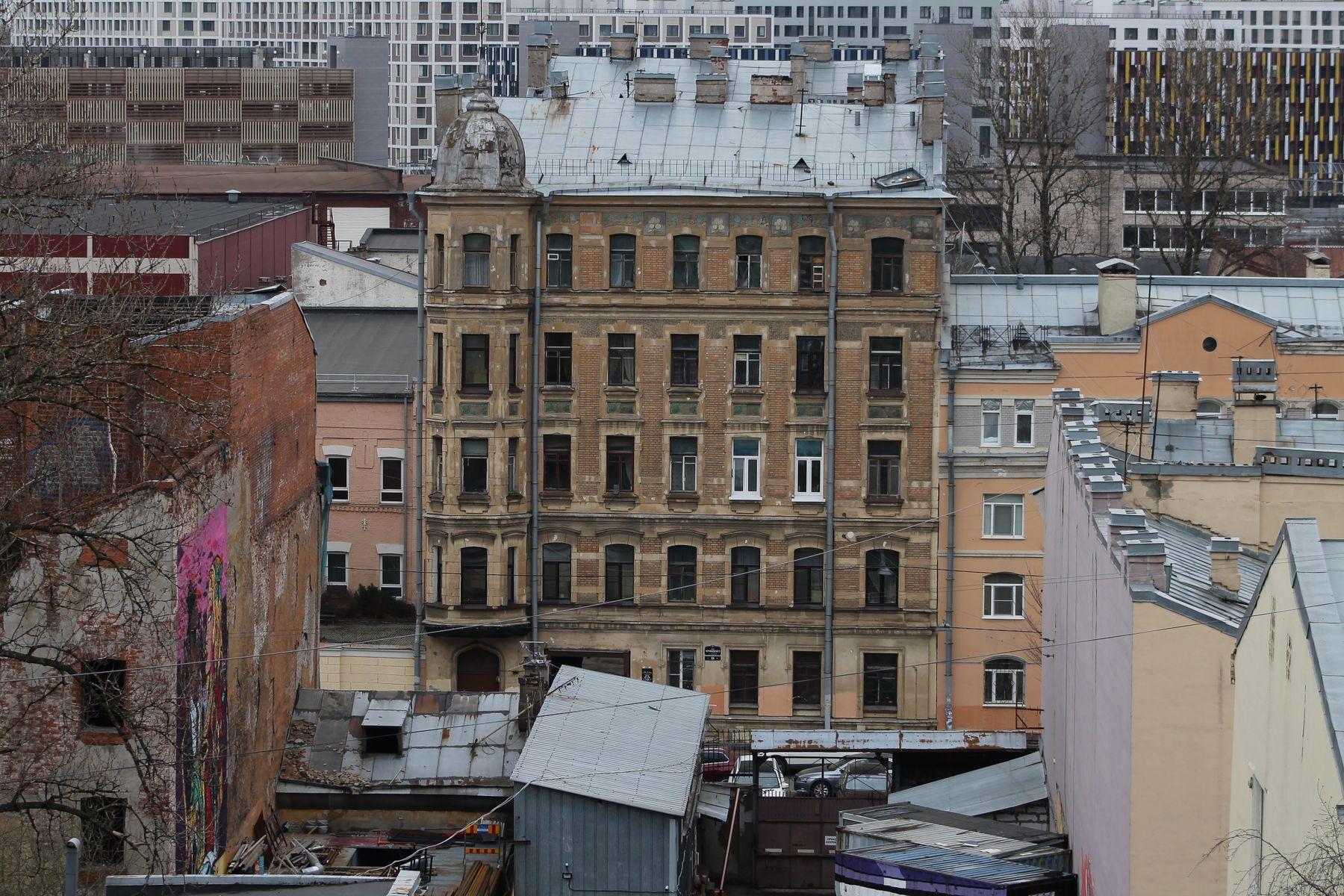 Вид на Санкт-Петербург (Лиговский проспект,74) Санкт-Петербург