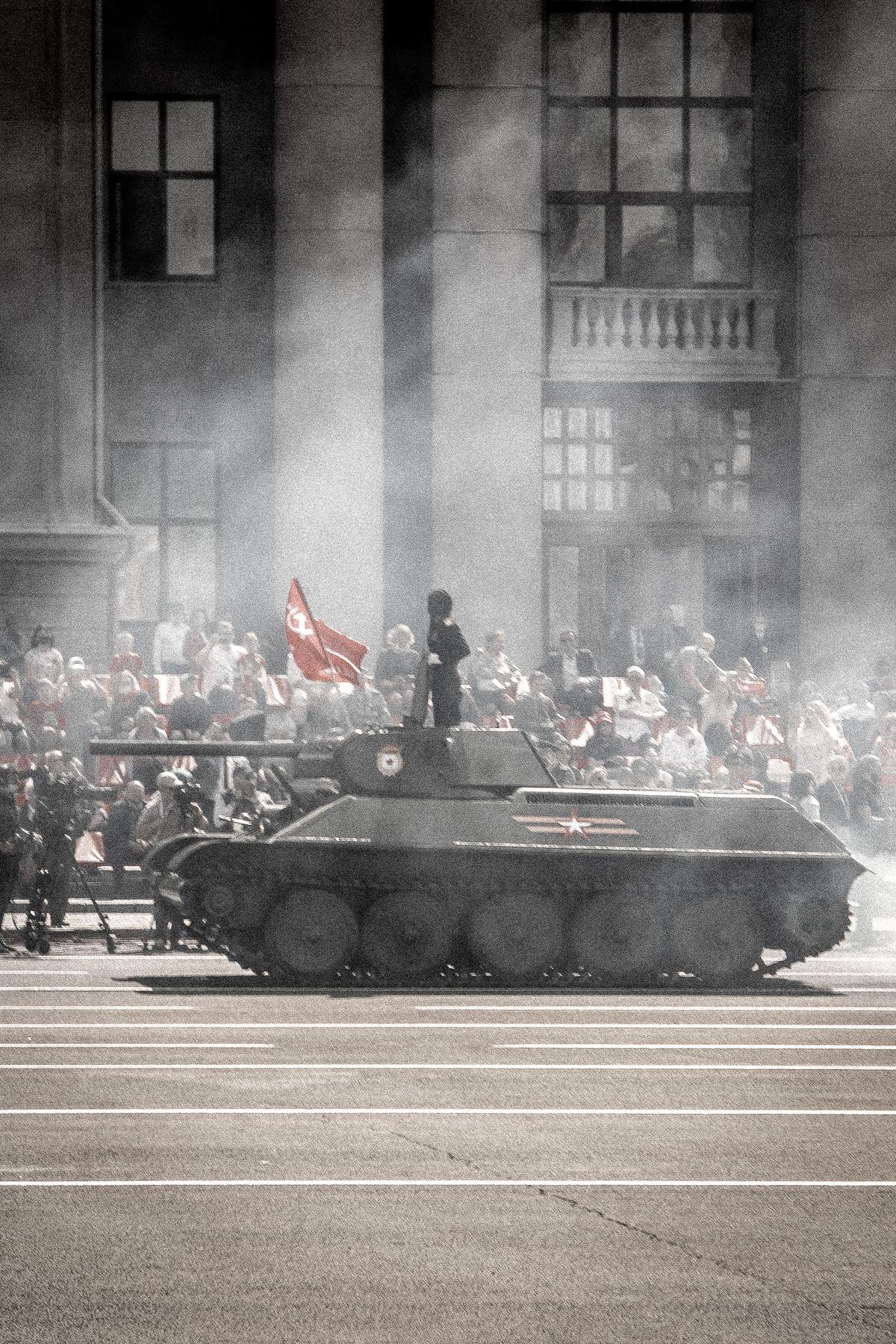 Т 34/76 Парад Победы 9 мая Самара Т-34
