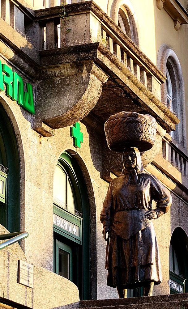 skulptura s tržnice