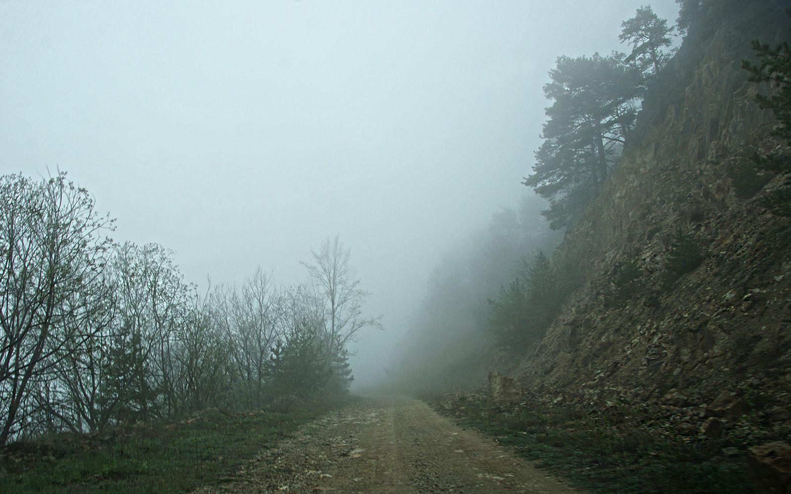 это не туман облако Архонский перевал