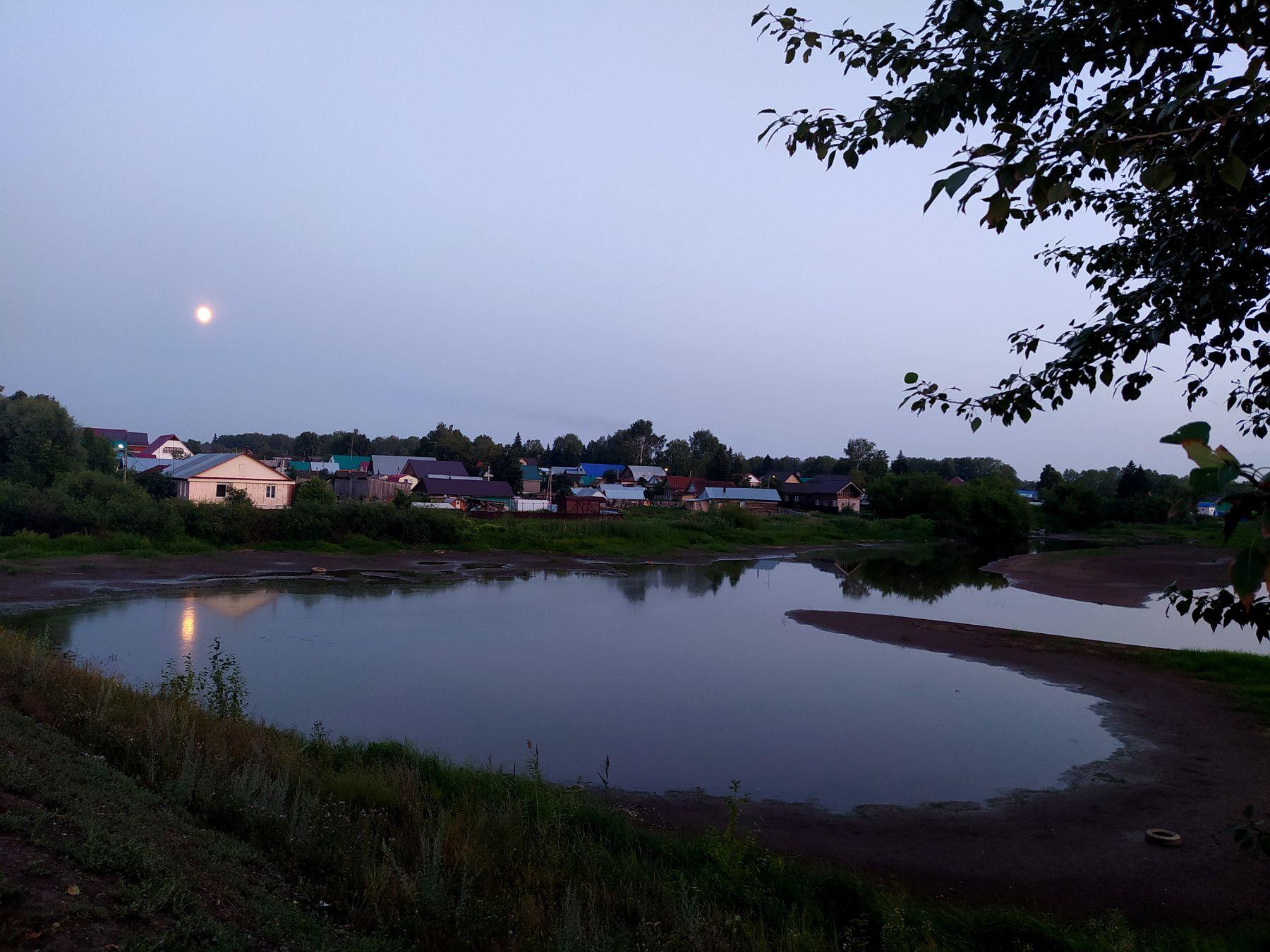 Летний вечер пгт Чишмы.