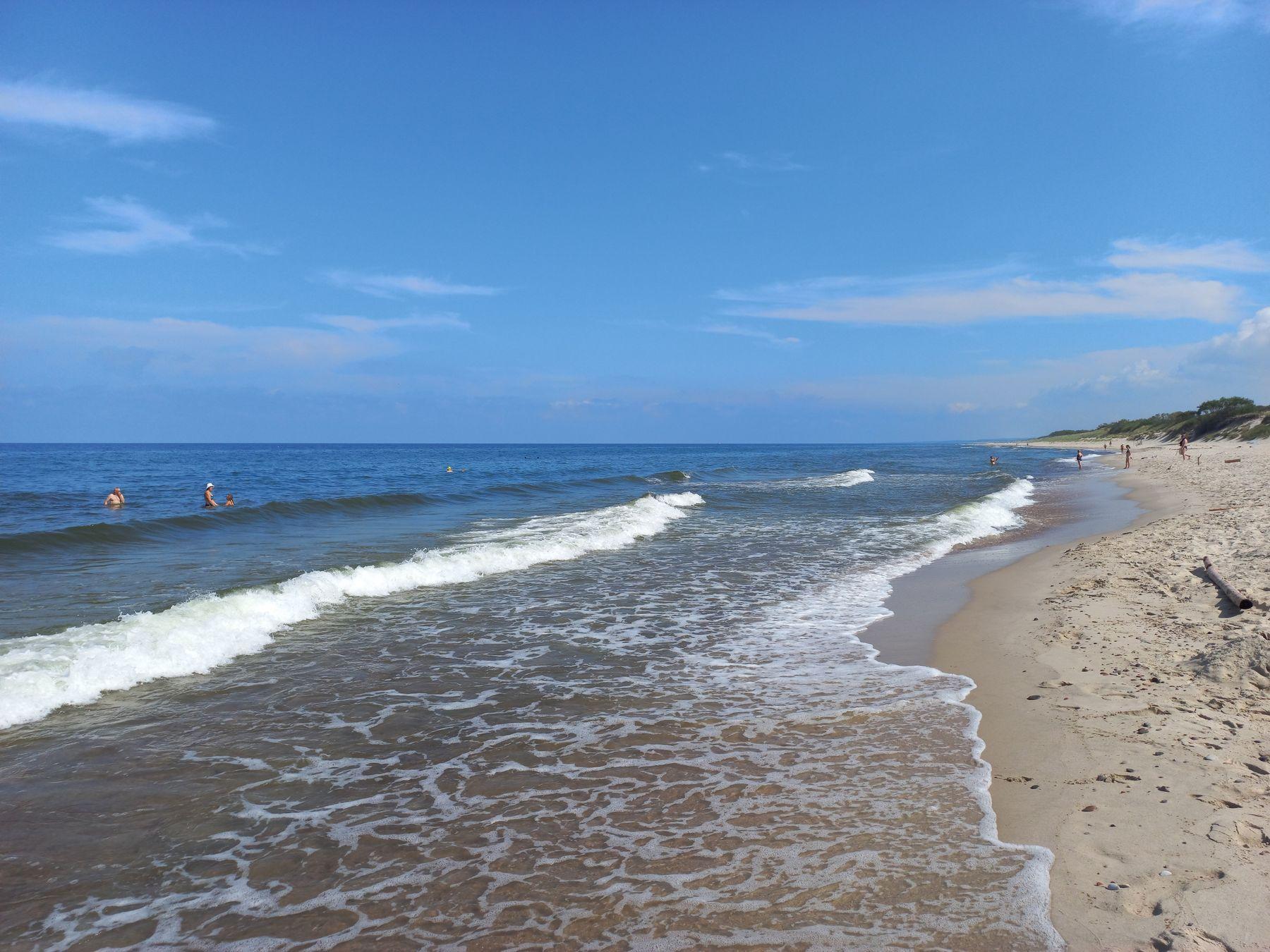Пляж на Куршской Косе (Калининградская область) Балтика Море Калининград